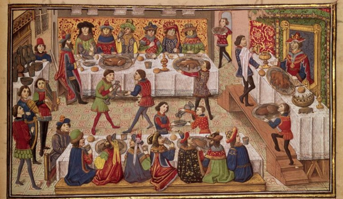 On the Medieval secret to a balling Christmas, for once.