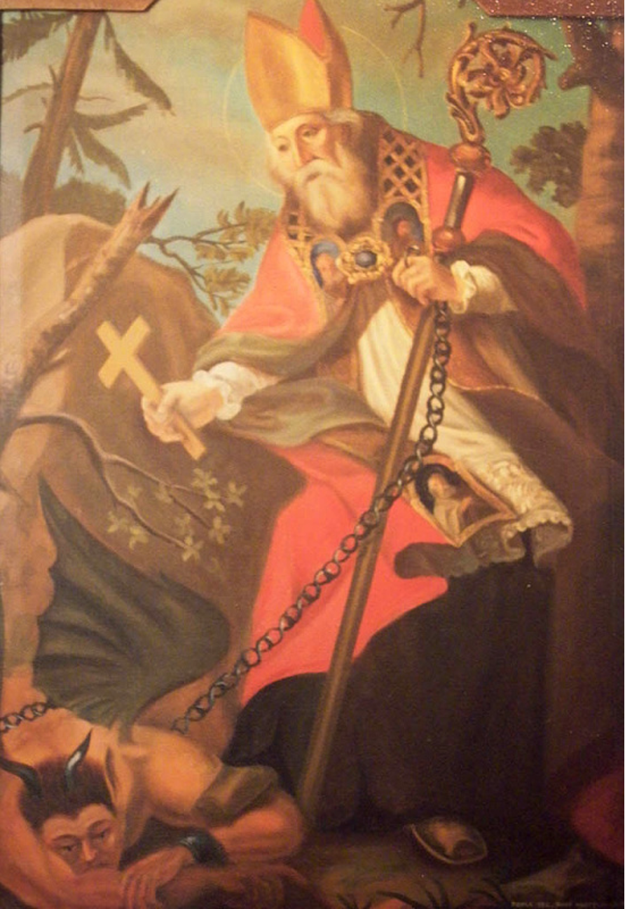 My fav Saints: St Procopius of Sázava, a spooky saint