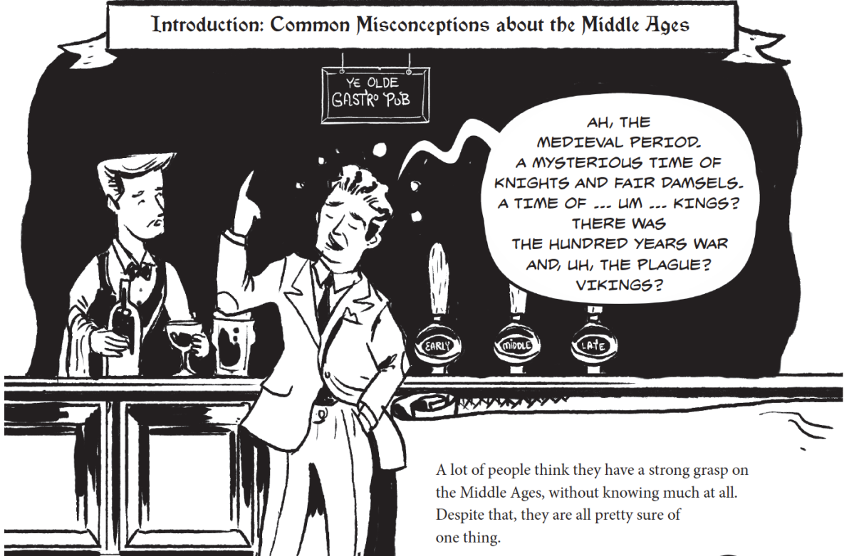 Sneak Peek: The Middle Ages, a Graphic History (outnow!)